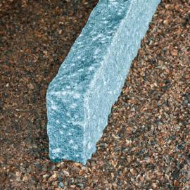 Kantsten Gråblå G654 - 10x28x100 cm (Lux)