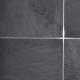 Sort Skifer 30x60x0,8-1,2 cm