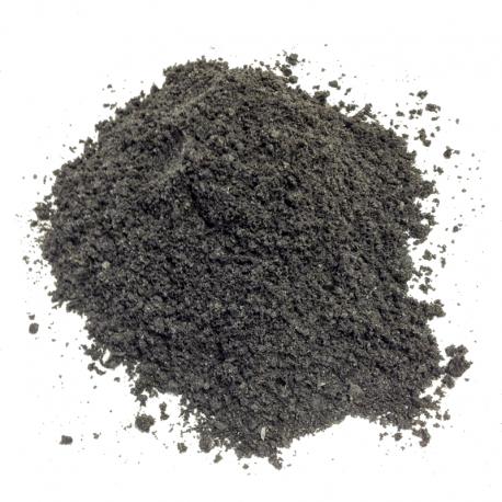Stenmel Sort 0-2 mm - Løs vægt