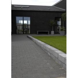 Holmegaardsten 14x21x5,5 cm Sort