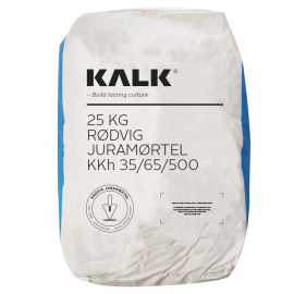 Rødvig Juramørtel Kh 35/65/500 - (Blå Pose) Korn 0-1 mm