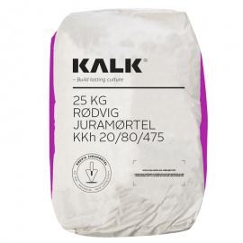 Rødvig Juramørtel KKh 20/80/475 - (Lilla Pose) Korn 0-2 mm