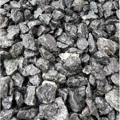 RESTSALG - Granitskærver Grå/Sort-mix 11/16 Big Bag 1000 kg