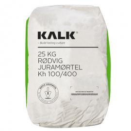 Rødvig Juramørtel Kh 100/400 - (Grøn Pose) Korn 0-5 mm