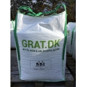 Granitskærver Rød/Sort 8/16 mm - Big Bag ca. 1000 kg