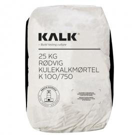 Rødvig Kulekalk mørtel K100/750 1:3 - korn 0-1 mm