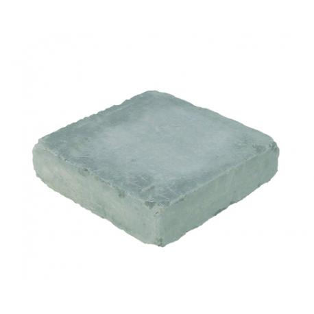 Holmegaardsten 28x28x7 cm - Kvadrat stor - Gråmix