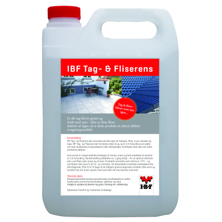 IBF Tag - & Fliserens - 5 L.