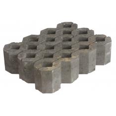 Græsarmeringsblokke 30x40x10 cm - Grå