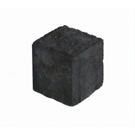 Betonbrosten/Kopsten 6x6x6 cm - Sort/Antracit