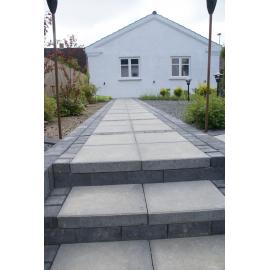 Betonbrosten/Kopsten 10x10x6 cm - Sort/Antracit