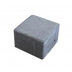 Betonbrosten/Kopsten 10x10x8 cm - Grå