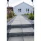 Betonbrosten/Kopsten 10x10x8 cm - Sort/Antracit