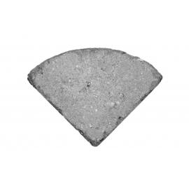 Holmegaardsten Ø50x5,5 cm - Centersten - Sort/Antracit