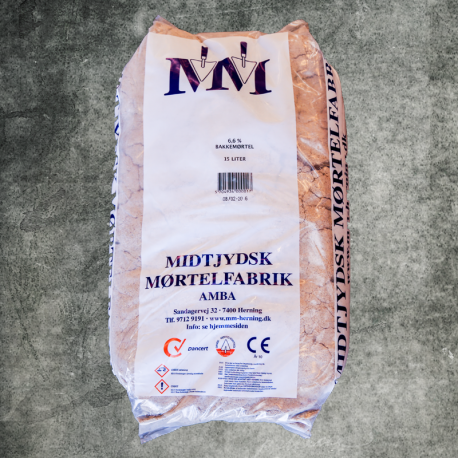 Bakkemørtel 6,6% - Big Bag 250 liter