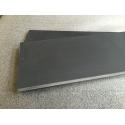 Kina Sålbænke Sort Skifer - savet kanter - Slebet overflade - 155x15x1,2 cm