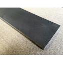 Kina Sålbænke Sort Skifer - savet kanter - Slebet overflade - 180x25x1,2 cm