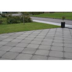 IBF SquareLine fliser (Kopsten) 10x10x6 cm Sort/Antracit