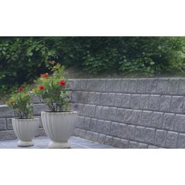 Danblokke Eksklusiv Bx26,8x17 cm - Hjørne Type 4 - Grå