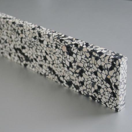 Amsterdam Sokkellister - med 3 mm fas i top - 40x7x1,5 cm