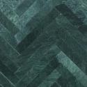 Grøn Marmor Sokkellister 7x61x1,2 cm - poleret m/fas