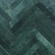 Grøn Marmor Sokkellister - sildeben poleret m/fas - 7x61x1,2 cm