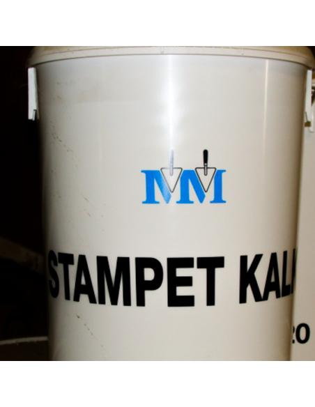 Stampet kalk m.m - 19 liter i spand