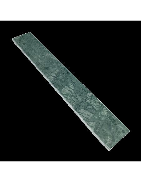 Grøn Marmor VG Fliser - sildeben 6,0x40x1,2 cm - finslebet m/fas