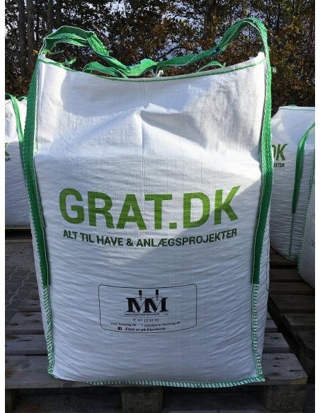 Granitskærver Sort 8/11 mm - Big Bag ca. 500 kg