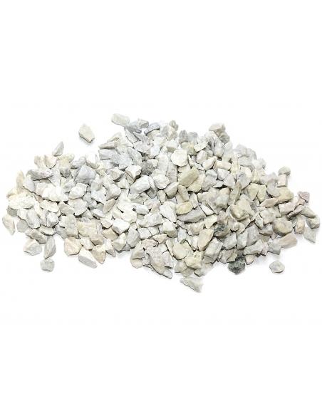 Granitskærver Hvid 8/11 mm - Big Bag ca. 500 kg