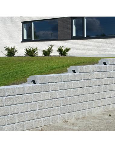 Danblokke Eksklusiv 25x34x17 cm - Grå